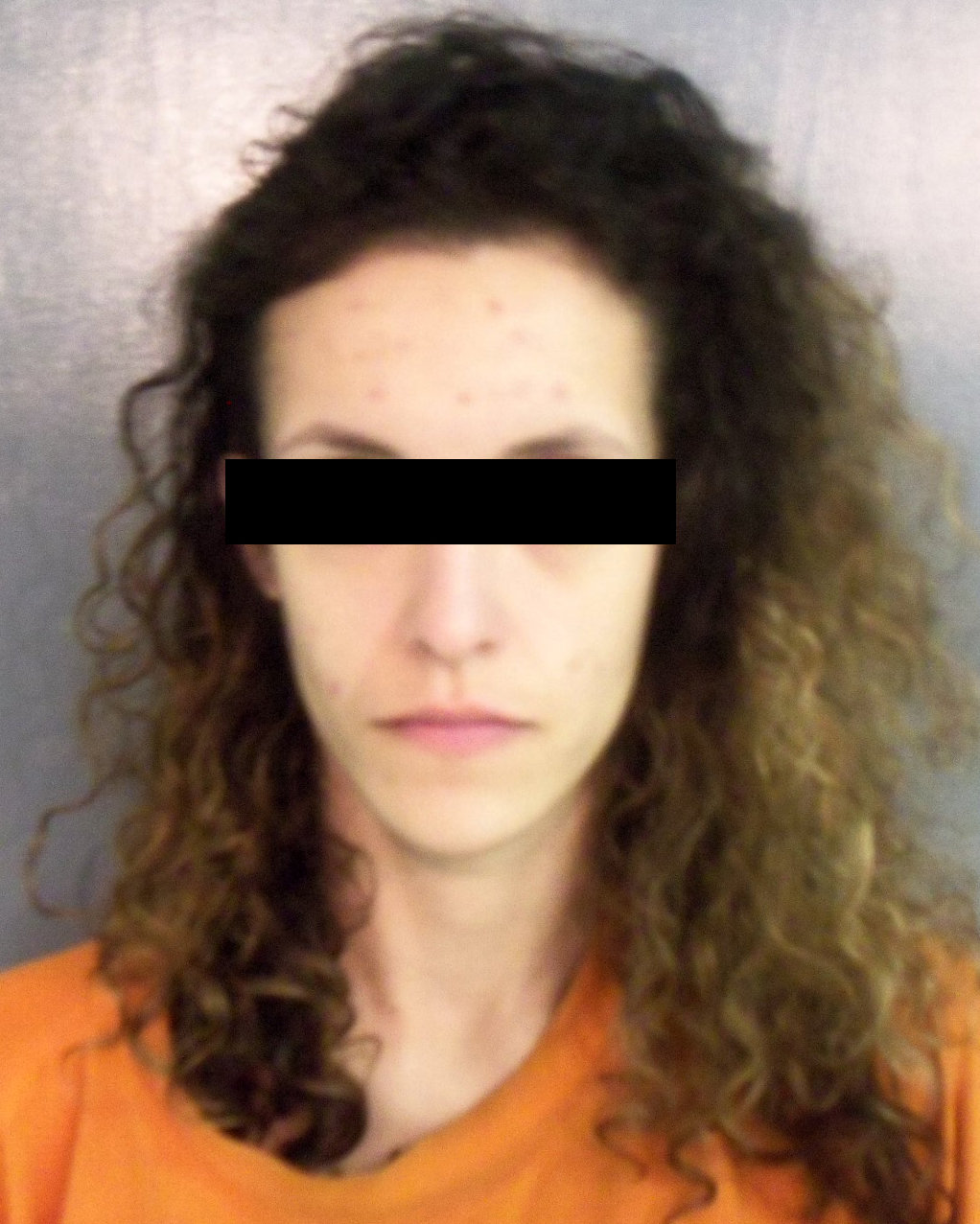 Police photo of victim, Rachel, from a prostitution arrest in Gloucester County, VA
