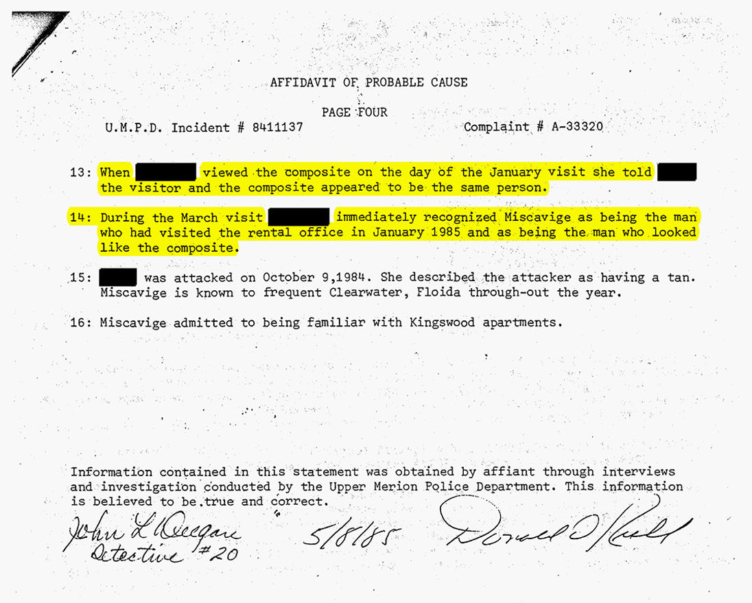 Ron Miscavige: What the Police Said