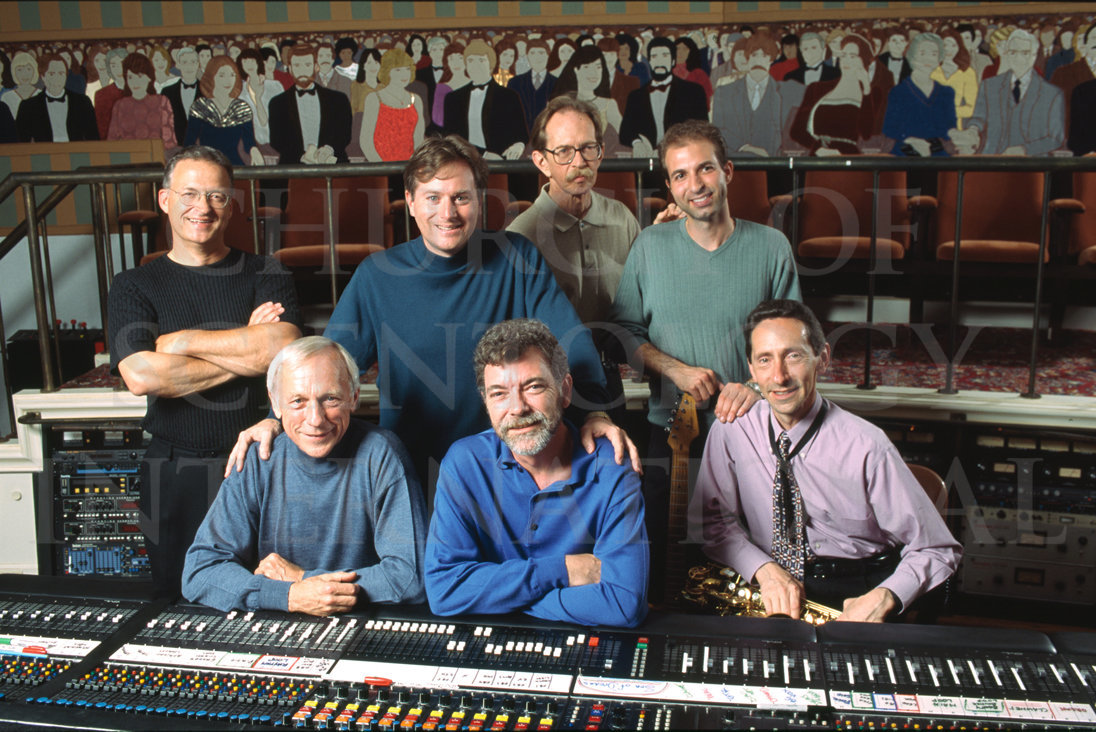 Ron-Miscavige-with-Gold-Musicians-at-Mix-Board