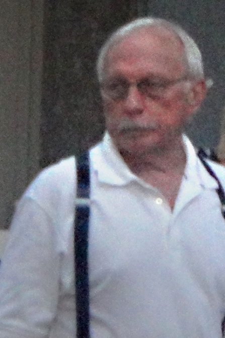 Ron Miscavige Sr in overalls