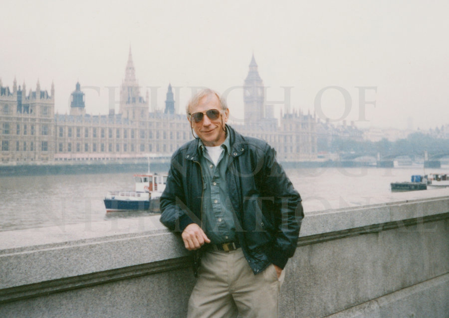Ron Miscavige time off in London