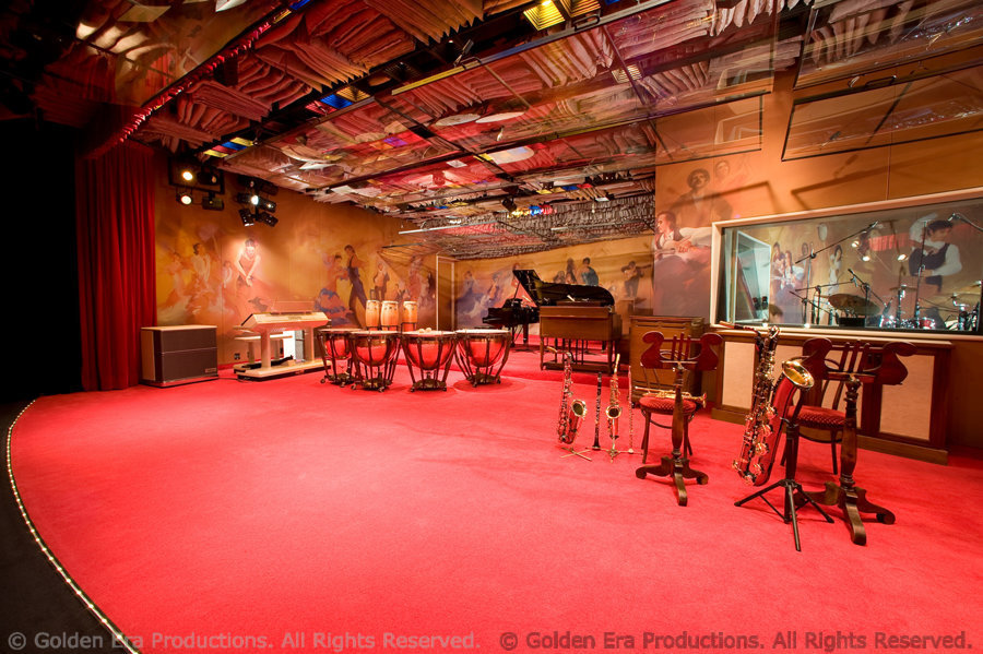 Music Studio Interior, Golden Era Productions