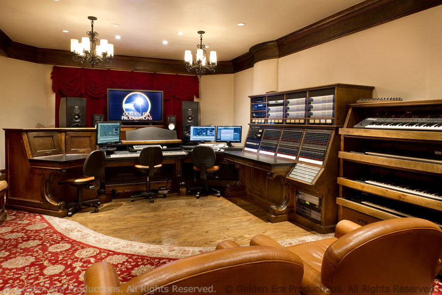 Music Scoring Room, Golden Era Productions