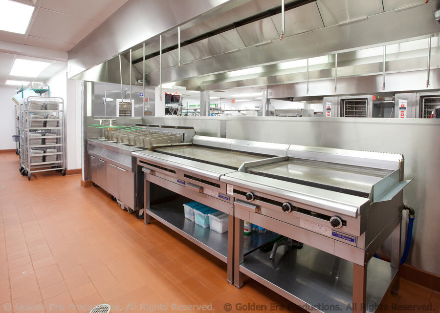 Galley Food Facility at Golden Era Productions