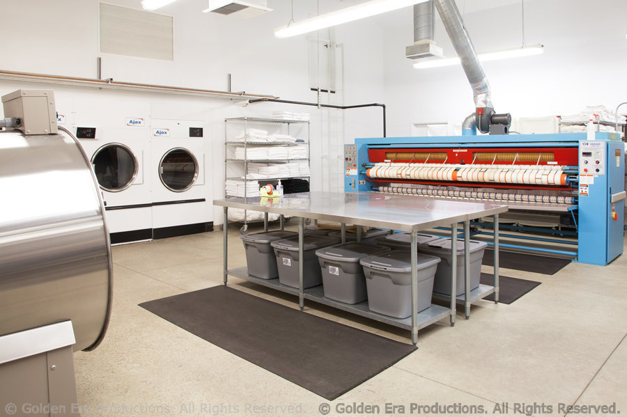 Interior Laundry Facility at Gold Base