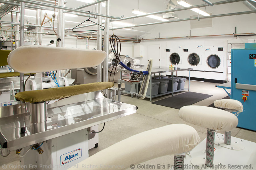 Dry Cleaning Facility for Staff at Golden Era